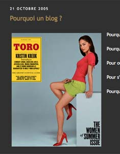 LE BLOG 2005-2013